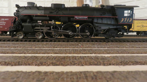 Weaver 2-rail B&M 3713 `Constitution' Pacific 4-6-2, No Tender, NIB - Actual Photo1