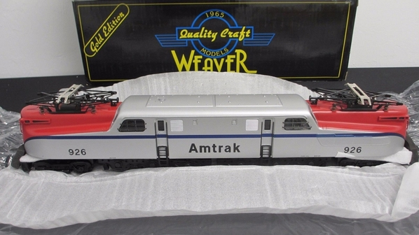 Weaver 1068L Amtrak # 926 Bloody-Nose GG1, Brass 80' scale [899 list) Sample PhotoB