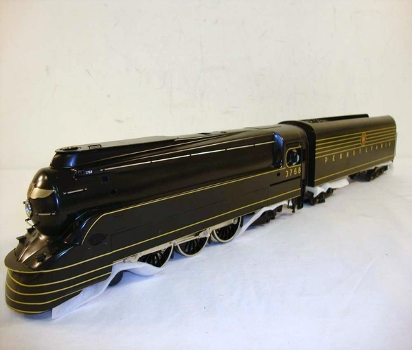 Weaver 1077L PRR K-4 TORPEDO # 3768, Brass 4-6-2 Pacific with QSI DCRU - ACTUAL PHOTO2