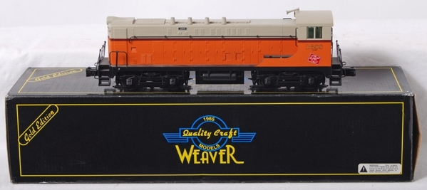 Weaver 1561LP MR # 1688 VO-1000 diesel with Sound, C7 [bent horn) Actual Photo1