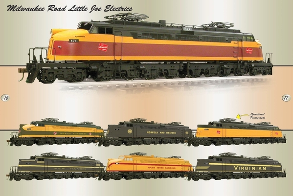 Weaver G1716 C&SS Little Joe Brass, TMCC, RS, EC [Fall 2014, 879 list) Stock Photo