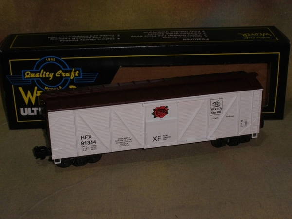 Weaver 91344 Hayden Flour Mills Outside-Braced Boxcar, Exc - Actual Photo1