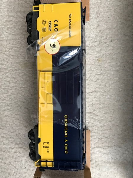 Weaver C&O # 13582 `Chessie' PS-1 40' Boxcar [2018-05-xx OGR 50 deliv) Actual Photo3
