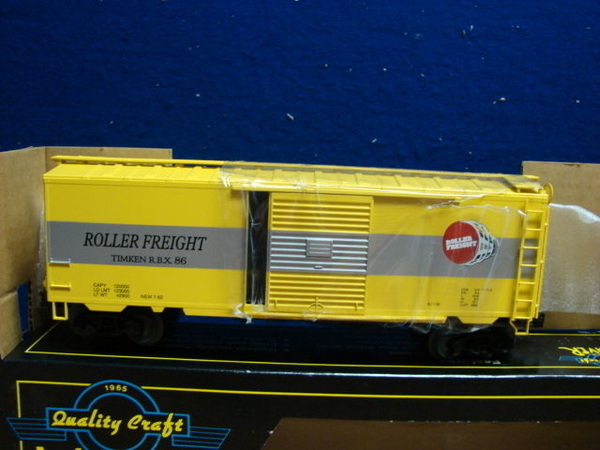 Weaver -Peterson TIMKEN # 86 [Yellow) 40' Boxcar # 1, Exc - ACTUAL PHOTO2