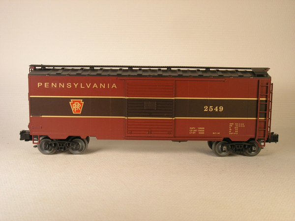 Weaver EBC52 PRR # 2549 Tuscan Red 40' PS-1 Express Boxcar - Sample PhotoD