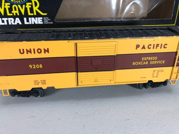Weaver EBC55 # 2 UP # 9208 [49'er Scheme) Express Boxcar - Actual Photo2