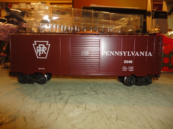 Weaver EBC57D PRR # 2546 PS-1 40' Express Boxcar, LNIB - Actual Photo2