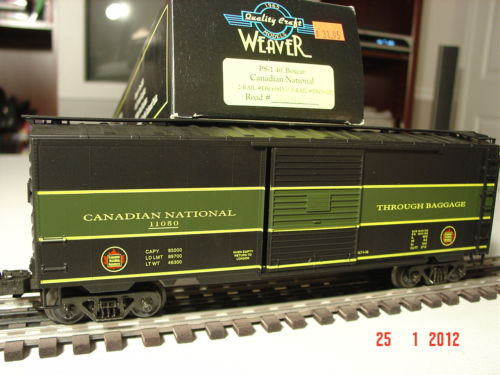 Weaver EBC61L Canadian National PS-1 Boxcar #11050, C10 - ACTUAL PHOTO