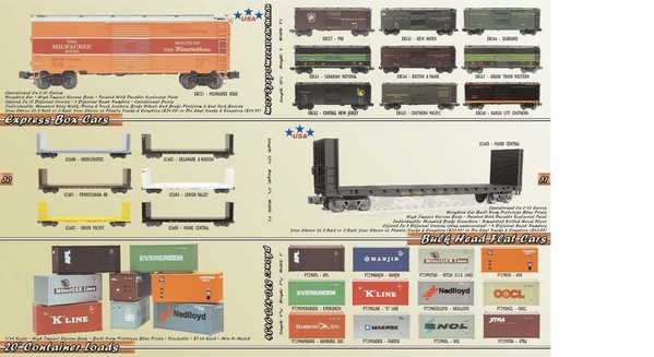 Weaver EBC67 GTW Express Box Car [Fall 2005, 44&95 list) Catalog