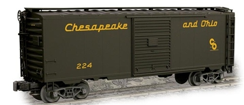 Weaver EBC70L C&O PS-1 Express Box Car # 224, NIB - 20 at Justrains
