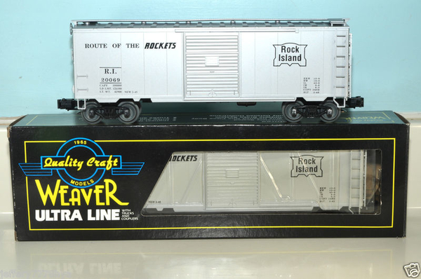 Weaver RI ROUTE OF THE ROCKETS # 20069 PS-1 Express Boxcar - ACTUAL PHOTO3