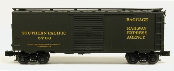 Weaver Southern Pacific REA Baggage Car # 5700 [TTOS 2009 August Convention Car) - STOCK PHOTO
