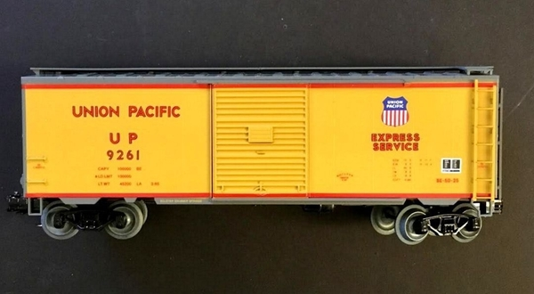 Weaver UP # 9261 Express Service PS-1 Boxcar, NIB [RGS Ltd Ed Trains) Actual Photo3