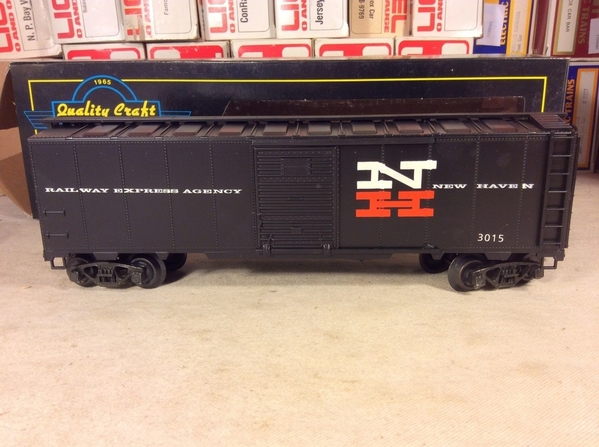 Weaver-McDonald New Haven # 3015 [Black) REA 40' Boxcar, C7 - Actual Photo5