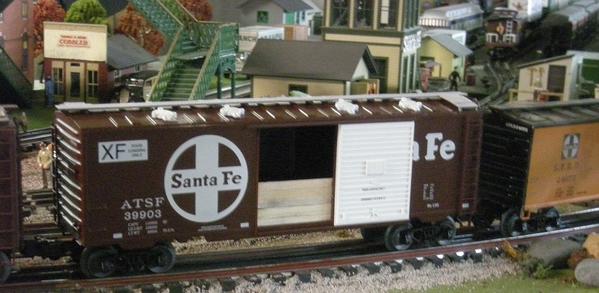 Weaver SF grain box car 1