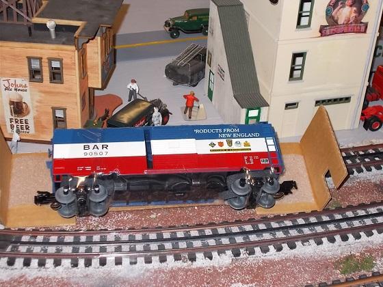 Weaver B A R boxcar 1