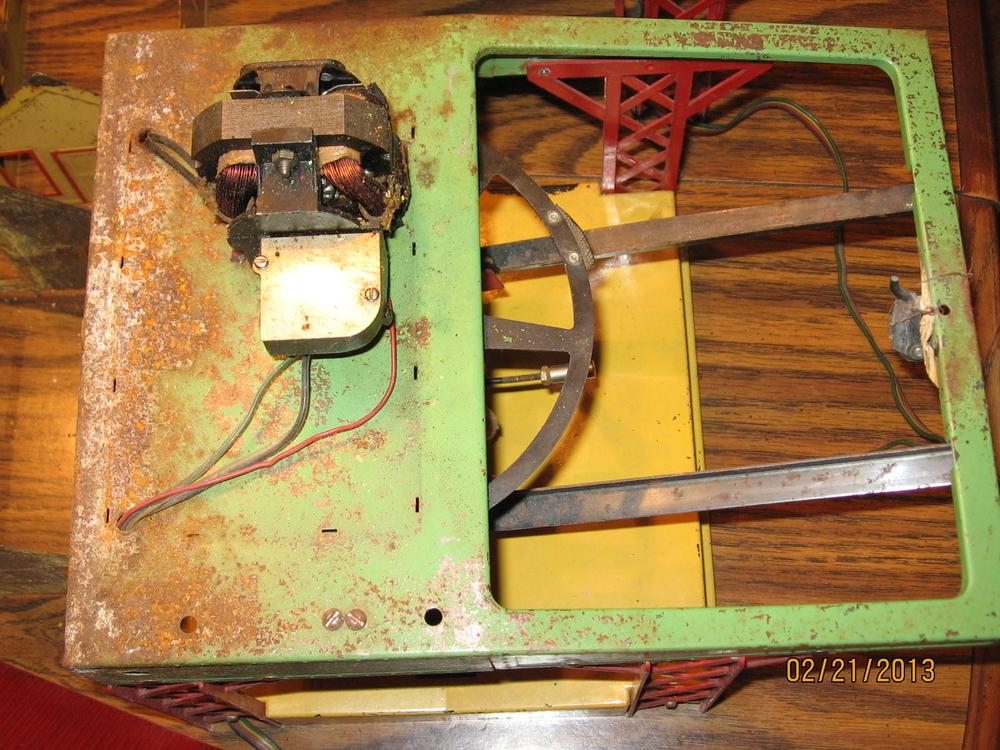 af 751 log loader restoration project o gauge railroading on line forum. Black Bedroom Furniture Sets. Home Design Ideas