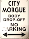 morgue parking