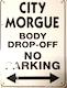 morgue parking