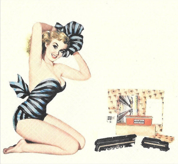 Lionel Pin-Up Girl