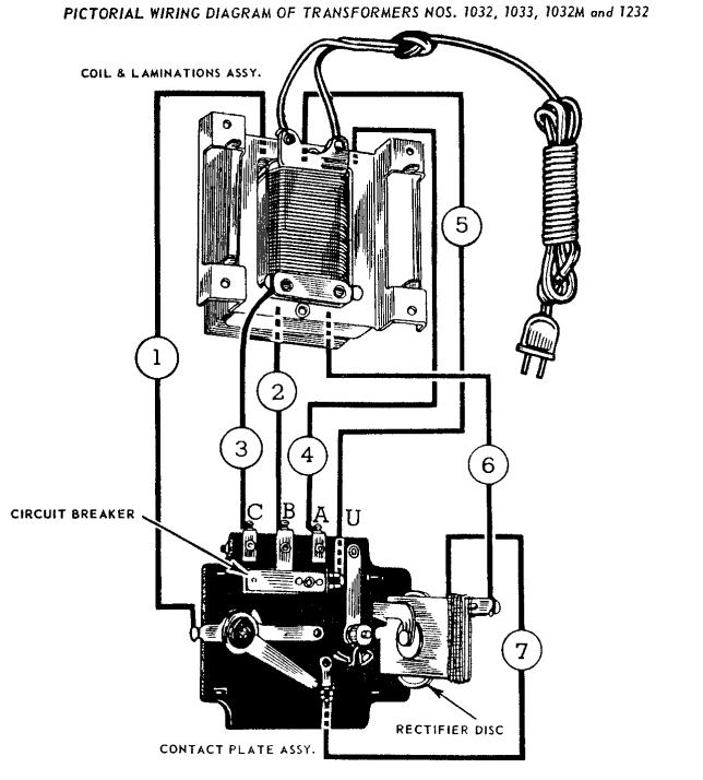 ressurection of a lionel 1032 transformer