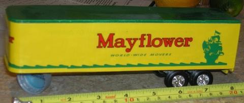 Mayflower model trailer