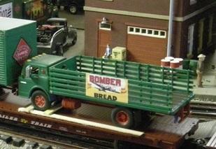 REA repainted Athearn trucks