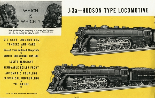 American Flyer Trains 1939, page 24