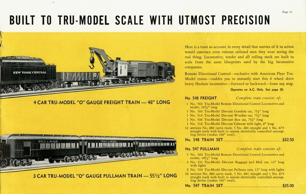 American Flyer Trains 1939, page 25