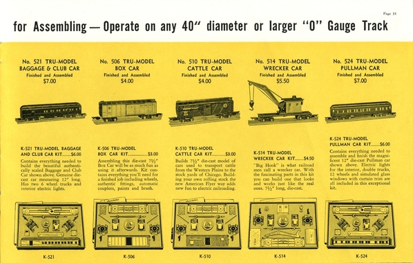 American Flyer Trains 1939, page 31