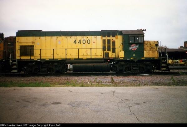 CNW 4400 Sterling IL 6-96