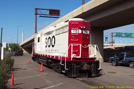 SOO LINE GP30 700 rear view