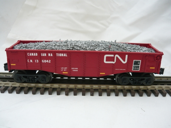 CN 027 gondola with load