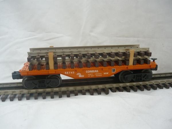 Conrail MOW track car