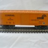 Conrail 027 box car in reefer paint scheme