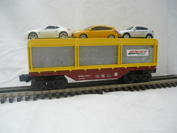 BNSF 027 Auto Rack car