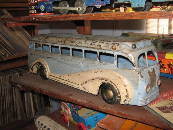 Kingsbury Pressed Steel Bus from 1930s
