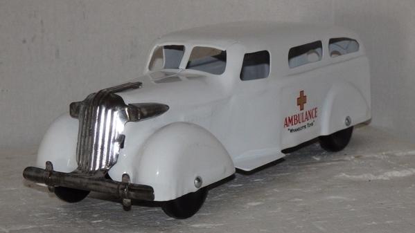 Wyandotte Ambulance three quarter view