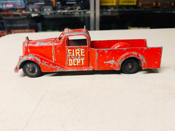 Metal Masters Fire Truck