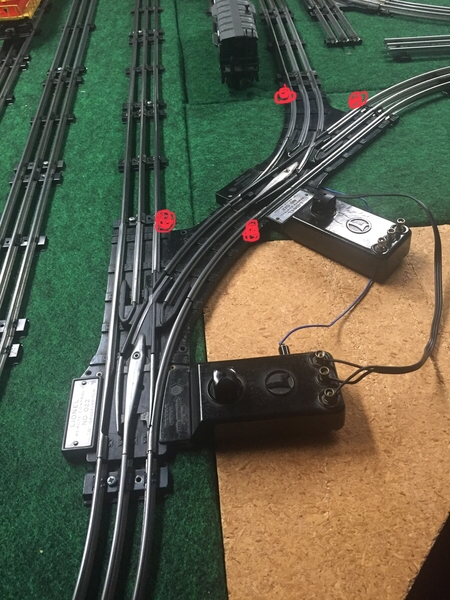 Paired 022 Switches O Gauge Railroading On Line Forum