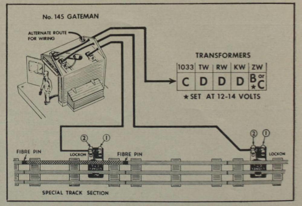 Lionel Gateman Wiring | O Gauge Railroading On Line Forum