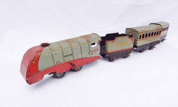 4-car silver link set
