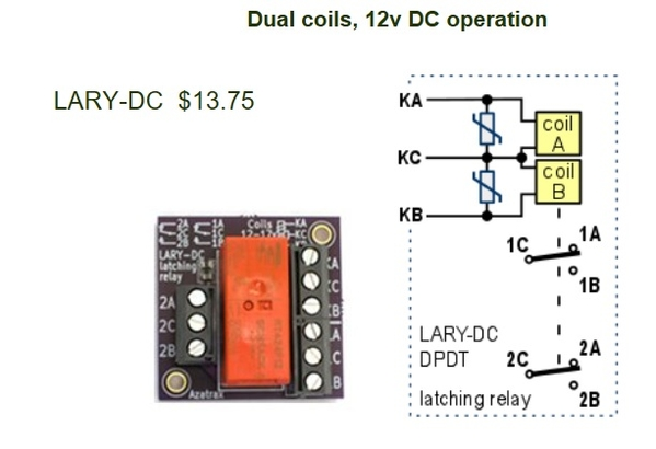 azatrax latching relay module