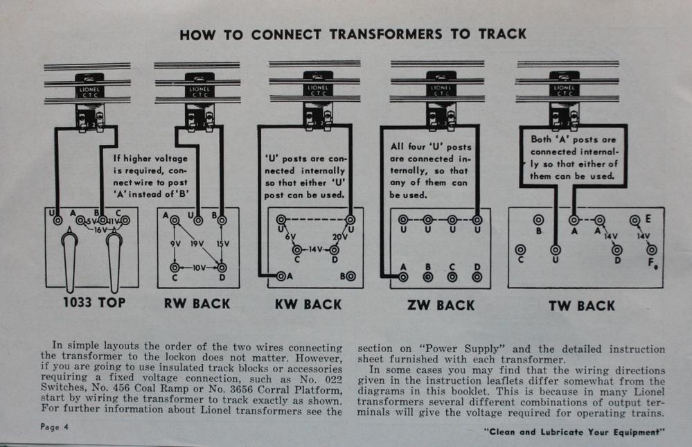 Lionel Kw Wiring Diagram