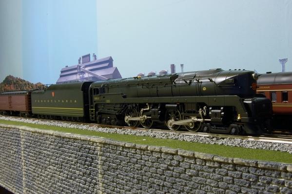 Lionel PRR T-1 front