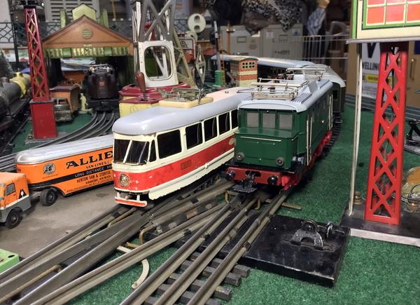 Ikaria tram and Zeuke electric loco