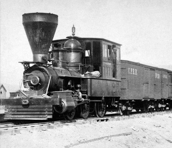 0-6-0 Central Pacific 27 Goliah