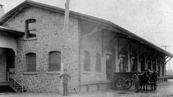 Orig train depot