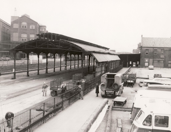 Altoona Station from 12th Street Footbridge ca. 1950s 1024x