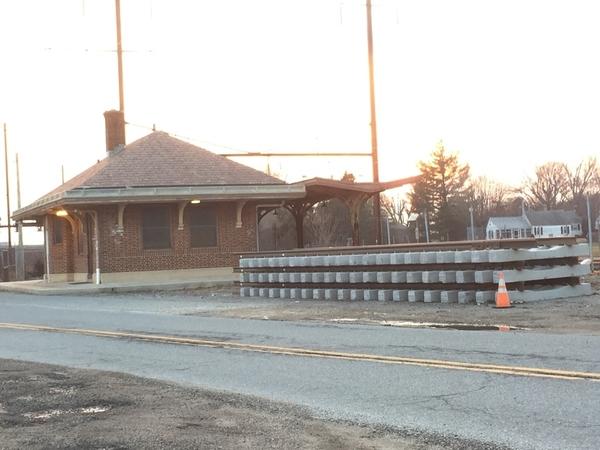 Elkton, MD. PRR Station
